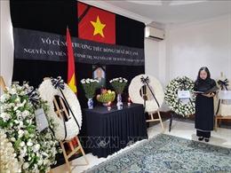 Lễ viếng và mở sổ tang nguyên Chủ tịch nước Lê Đức Anh tại Myanmar và Hà Lan