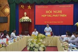 Thành phố Hà Nội và tỉnh Hà Nam hợp tác phát triển toàn diện