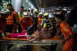 11 người bị thương trong vụ máy bay Bangladesh chệch khỏi đường băng