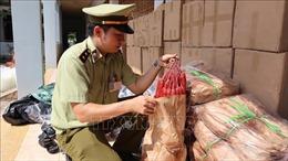Bắt giữ vụ 'tuồn' hàng nghìn sản phẩm nhập lậu lên Tây Nguyên