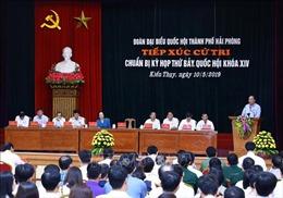 Gửi tiếng nói của cử tri đến diễn đàn Quốc hội