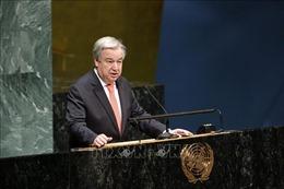 Liên Hợp quốc kêu gọi 'cứu trái đất' trước biến đổi khí hậu