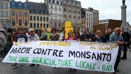 Hàng nghìn người Pháp tuần hành phản đối Tập đoàn hóa chất Mỹ Monsanto