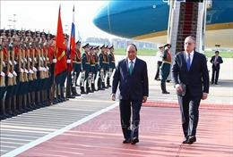 Thủ tướng Nguyễn Xuân Phúc đến Thủ đô Moscow, thăm chính thức Liên bang Nga