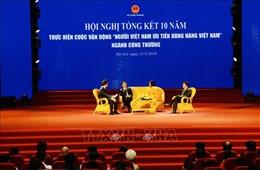 Phó Thủ tướng Vương Đình Huệ: Chung tay nâng cao giá trị thương hiệu hàng Việt Nam