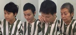 Bắt tạm giam, khởi tố 4 bị can vụ 2 thi thể trong thùng bê tông