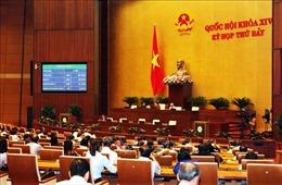 Thông cáo báo chí số 8, Kỳ họp thứ 7, Quốc hội khóa XIV