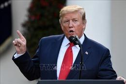 Tổng thống Mỹ: Áp thuế nhập khẩu sẽ thúc đẩy các nhà sản xuất rời Trung Quốc sang nước khác