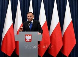 Ba Lan sẽ tổ chức bầu cử Quốc hội vào tháng 10