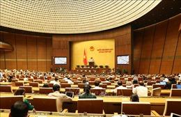 Quốc hội sẽ thông qua hai nghị quyết và thảo luận hai dự án luật