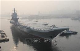 Tàu sân bay Trung Quốc lại đi qua các đảo của Nhật Bản