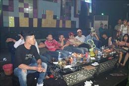 Bốn giờ sáng, hàng chục đối tượng sử dụng ma túy trong quán karaoke ở Đồng Nai