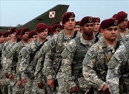 Mỹ sẽ điều động thêm 1.000 binh sĩ tới Ba Lan