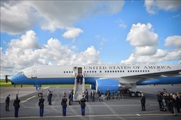 Tổng thống Mỹ hé lộ thiết kế mới của máy bay Không lực Một