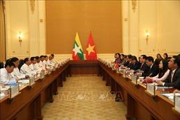 Thúc đẩy hợp tác kinh tế, thương mại giữa Việt Nam và Myanmar