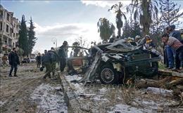 Đánh bom xe gần các văn phòng an ninh của người Kurd, 7 dân thường bị thương