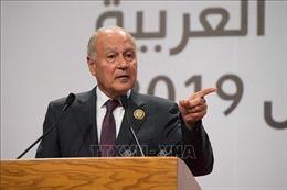 AL cảnh báo sẽ không có hòa bình Trung Đông nếu không thành lập nhà nước Palestine