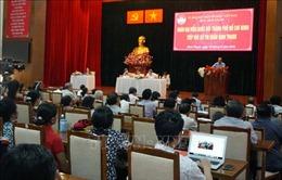 Lãnh đạo TP Hồ Chí Minh tiếp xúc cử tri sau kỳ họp thứ 7 Quốc hội khóa XIV
