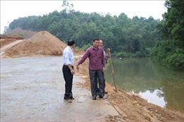 Nguy cơ hơn 6 ha ruộng phải bỏ hoang do hồ thủy lợi bị san lấp