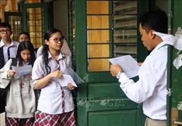 Hơn 99% thí sinh đến làm thủ tục dự thi THPT quốc gia 2019