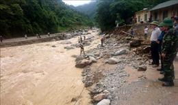 Năm bản của Lai Châu vẫn bị cô lập do mưa lũ