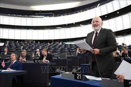 Bất đồng về việc trao ghế chủ tịch EC cho cựu Ngoại trưởng Hà Lan Frans Timmemans