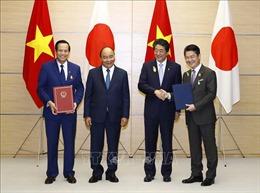 Việt Nam, Nhật Bản trao đổi biên bản hợp tác tiếp nhận lao động kỹ năng đặc định