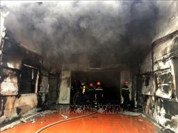 Cháy lớn tại Công ty Cổ phần Dược phẩm Syntech