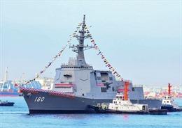 Nhật Bản hạ thủy tàu khu trục trang bị hệ thống Aegis mới