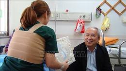 Đại sứ Việt Nam tại Hàn Quốc thăm hỏi, động viên cô dâu Việt bị chồng bạo hành