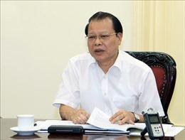 Thủ tướng thi hành kỷ luật bằng hình thức cảnh cáo đối với nguyên Phó Thủ tướng Vũ Văn Ninh