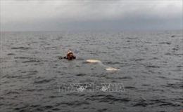 Vụ 9 ngư dân mất tích: Phát hiện một phần thi thể gần khu vực tàu chìm