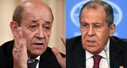 Pháp khẳng định đã đến thời điểm giảm căng thẳng với Nga