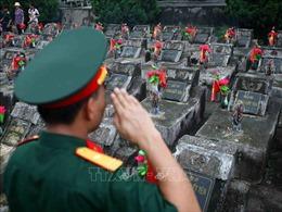 Nghĩa trang liệt sỹ Vị Xuyên - nơi yên nghỉ của trên 1.700 liệt sỹ