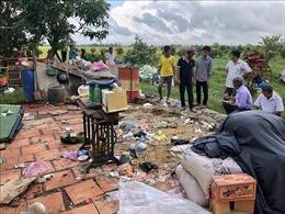 Mưa, dông lốc làm thiệt hại 879 nhà dân tại An Giang
