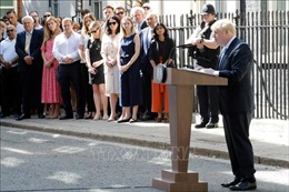 Tân Thủ tướng Anh Boris Johnson cam kết thực hiện Brexit đúng hạn chót 31/10
