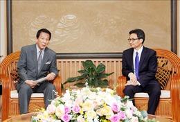 Phó Thủ tướng Vũ Đức Đam tiếp Đại sứ đặc biệt Việt Nam - Nhật Bản