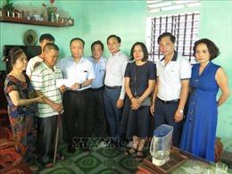 Đoàn công tác của các cơ quan Trung ương thăm, tặng quà các gia đình chính sách