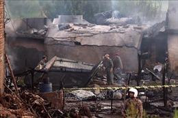 Tìm thấy thêm nhiều thi thể vụ rơi máy bay quân sự tại Pakistan