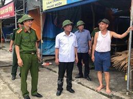 Quảng Ninh huy động hàng nghìn cán bộ, chiến sỹ giúp dân phòng, chống bão