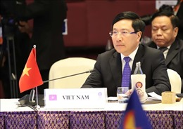 Phó Thủ tướng Phạm Bình Minh dự Hội nghị Bộ trưởng Ngoại giao ASEAN với các đối tác