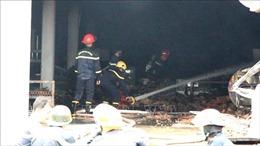 Cháy trong khu công nghiệp Sóng Thần 3