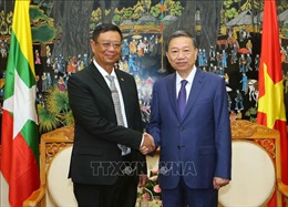 Việt Nam - Myanmar tăng cường hợp tác an ninh