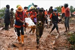 69 người Myanmar thiệt mạng trong vụ lở đất do mưa bão