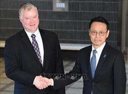 Quan chức Nhật Bản, Mỹ thảo luận phi hạt nhân hóa Bán đảo Triều Tiên