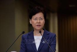 Trưởng Đặc khu Hành chính Hong Kong (Trung Quốc) kêu gọi đối thoại giải quyết vấn đề