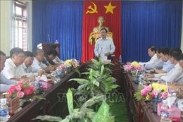 Chủ tịch Mặt trận Tổ quốc Trần Thanh Mẫn thăm, làm việc tại tỉnh Đắk Nông