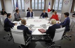 Hội nghị G7 đạt đồng thuận về hạt nhân Iran, thương mại và cháy rừng Amazon
