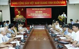 Hội nghị báo cáo viên các tỉnh ủy, thành ủy, đảng ủy trực thuộc Trung ương