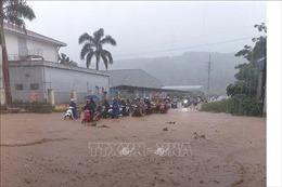 Thanh Hóa: Mưa bão gây ngập lụt nhiều khu vực miền núi